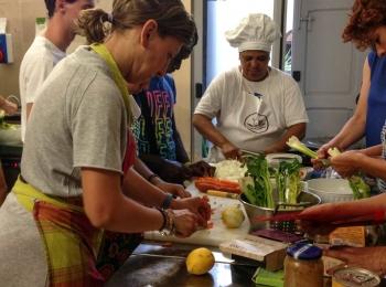 Cucinando a Km Vero a Bitonto